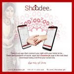 Shaadee.pk is a match-making service with a whole new concept of going about marriage the unconventional way. Presenting 'Personalized Match-making' at your convenience, we offer an extensive range of choices based on your very own vision of a spouse -- making it easy for you to meet people worth spending your time with. The goal is to help successful, single, men and women find reliable and suitable partners for marriage.